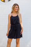 Move To The Rhythm Dress - Black