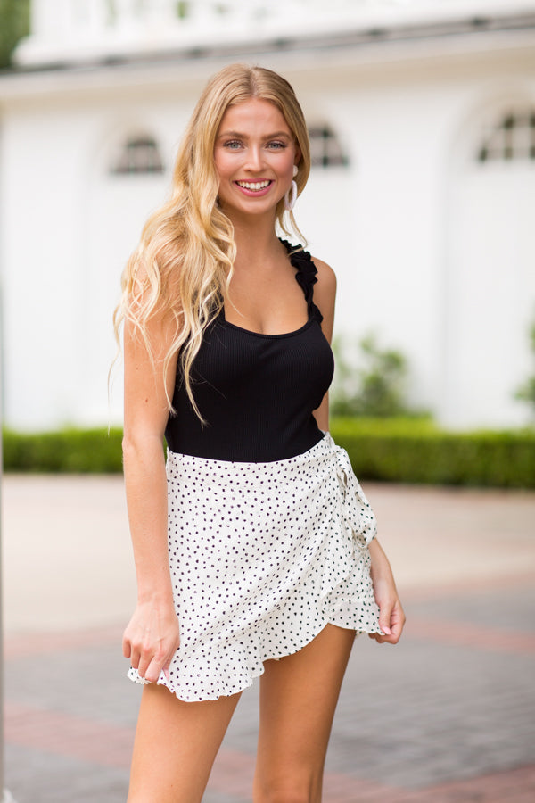 Sunday Funday Skort- White