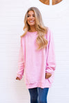 Wildfox Roadtrip Sweatshirt - Carnation
