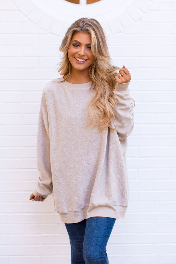 Wildfox Roadtrip Sweater - Maderas Tan