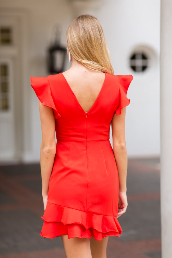 Right Occasion Dress- Red