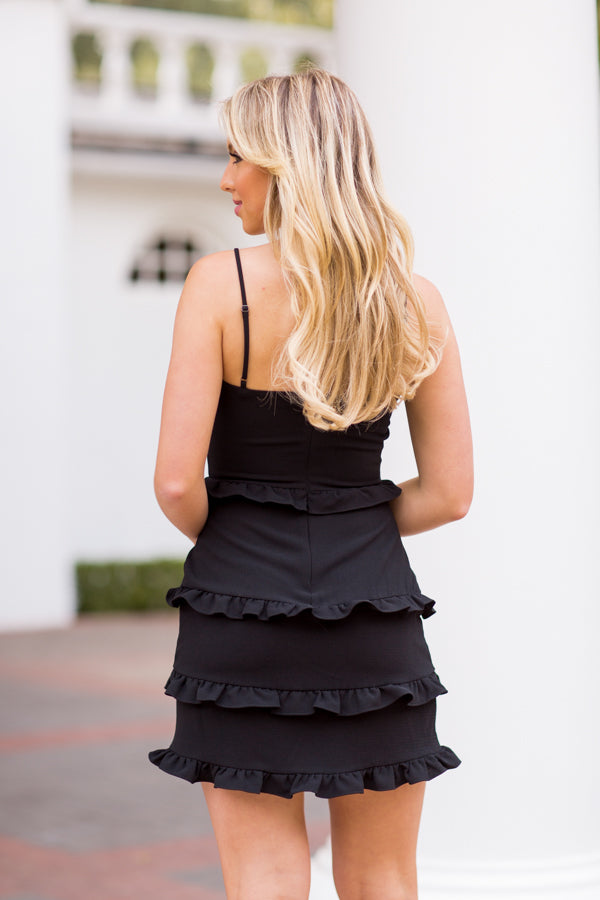 Salsa All Night Dress - Black