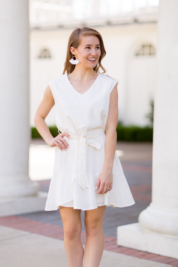 Santorini Dress - Off White