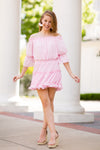 Blushing Bride Dress - Petal Pink