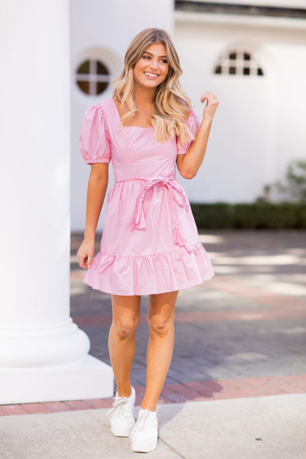 Be My Galentine Dress - Pink
