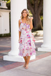 Tea Party Midi Dress - Floral