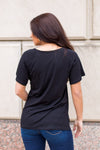 Essential Pocket Tee- Black