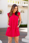 The Reina Dress- Red