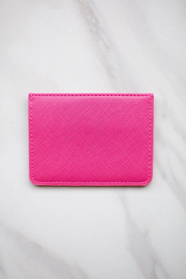 Four Fold Wallet- Pink