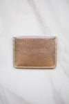 Four Fold Wallet- Gold