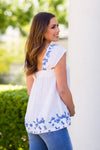 The Elena Top- White