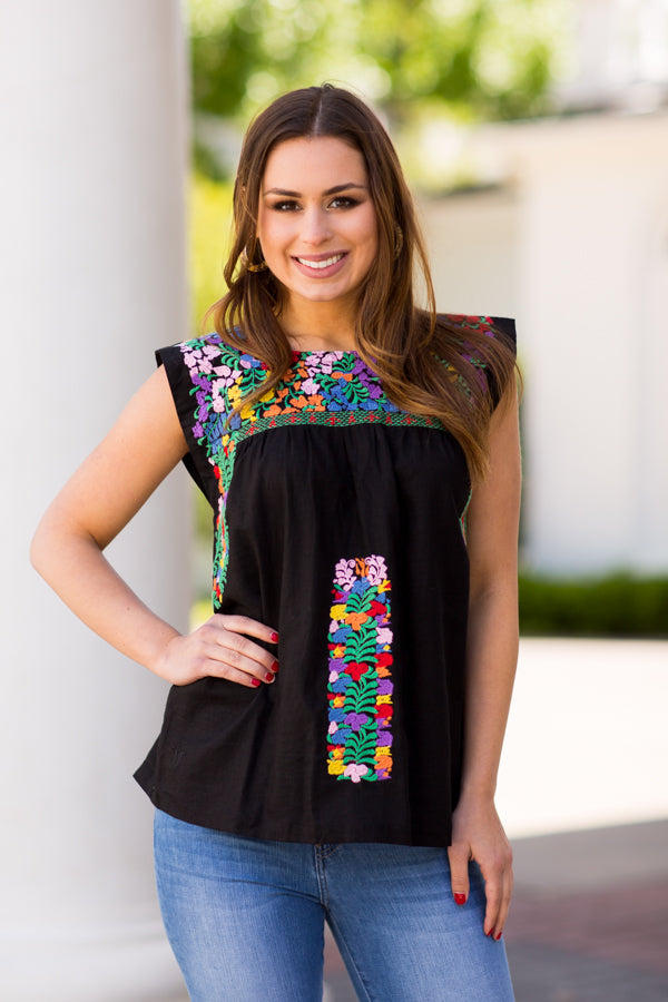 The Bianca Top- Black