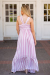 Summer Weddings Maxi Dress- Mauve