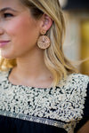 Cecilia Earrings- Gold