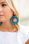 LaLa Earrings- Turquoise