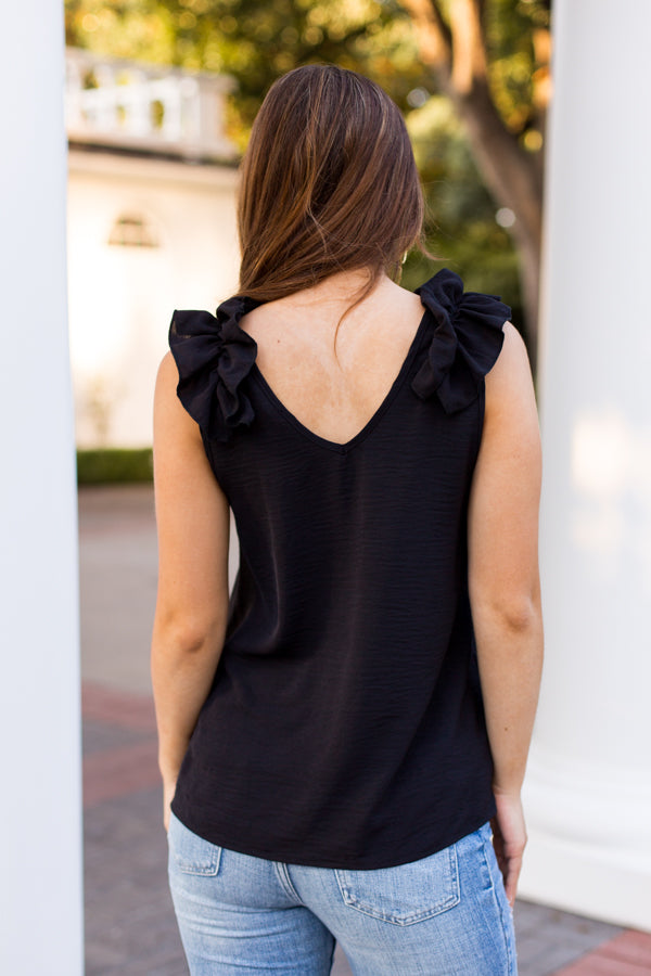 In Charge Top - Black