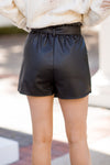 Paperbag Lunch Shorts - Black