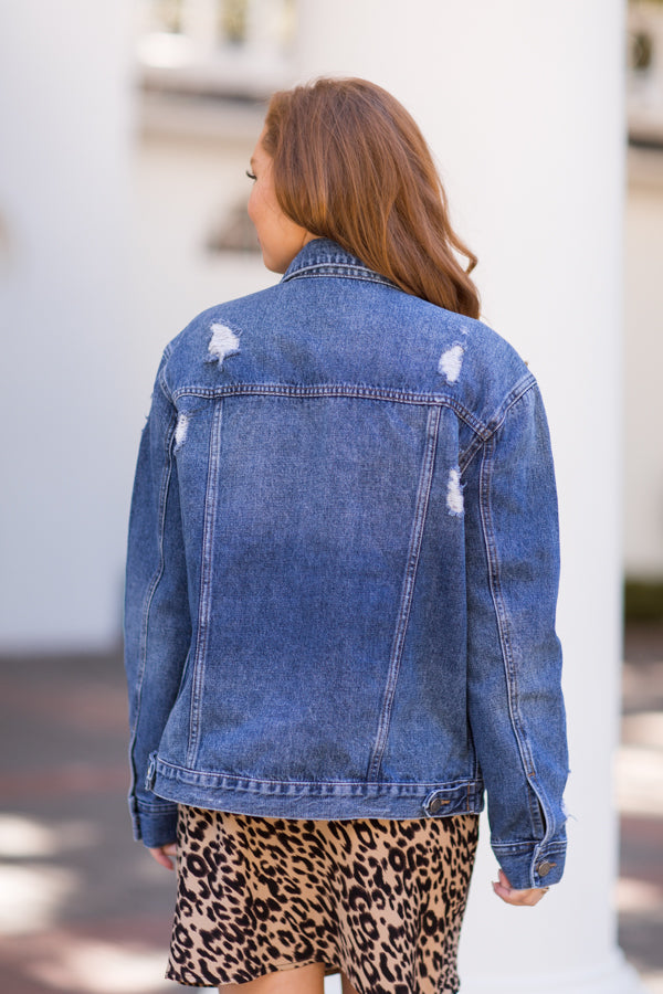 Blue Jean Baby Denim Jacket - Medium Wash