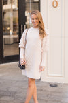 Let It Snow Sweater Dress