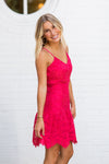 BB Dakota Turning Heads Dress- Magenta
