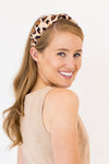 Knotty Or Nice Headband - Leopard