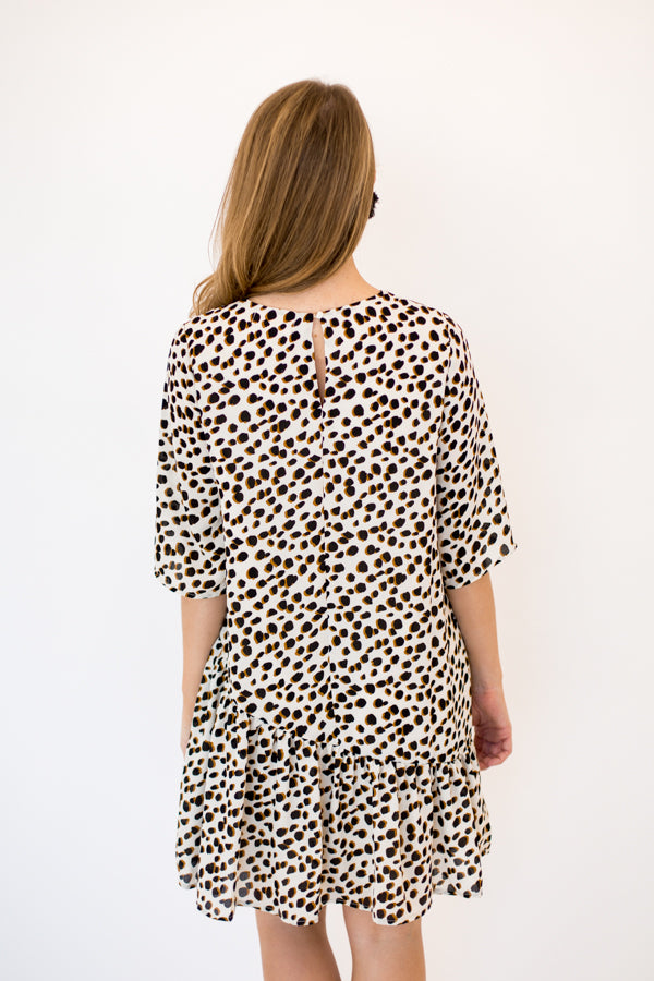 Too Tamed Dress - Cream