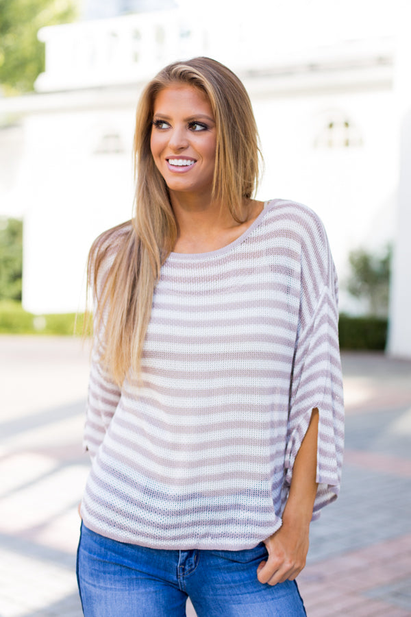 So Light Sweater- Blush
