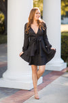 Brush It Off Dress - Black