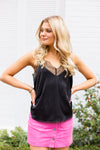 Silky Smooth Tank- Black