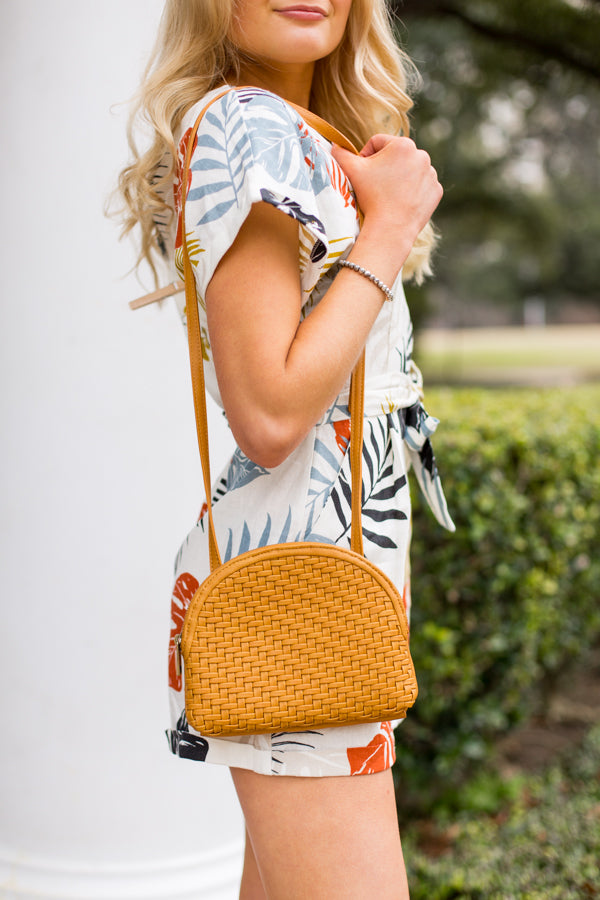 Keep it Breezy Purse- Maize