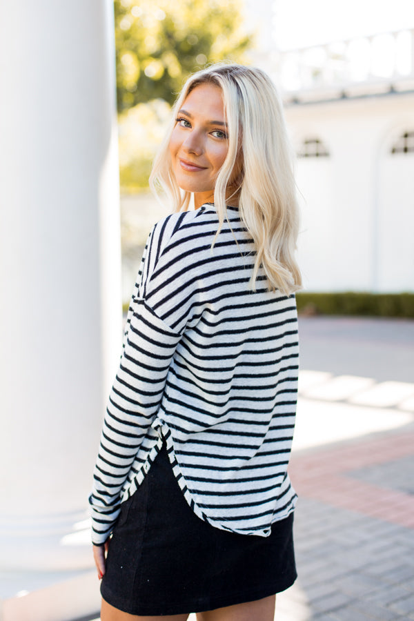 Say It With Stripes Top