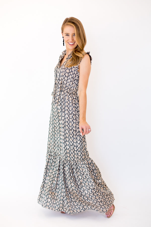 5th Avenue Maxi Dress - Snake