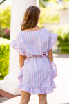 Passport To Paradise Dress- Pink