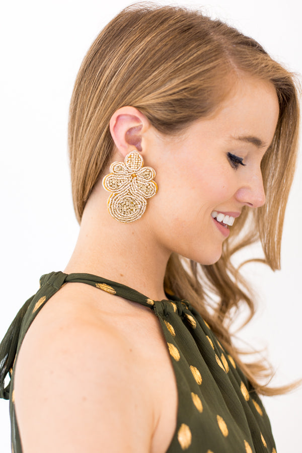 Tinsel & Shine Earrings - Gold