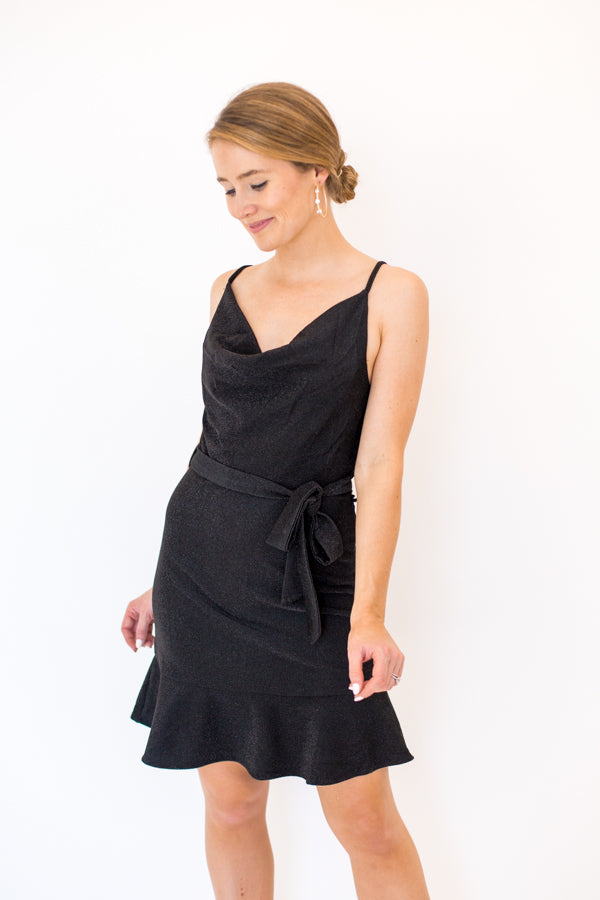 Home For The Holidays Dress - Black