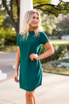 Envy the Ivy Dress - Dark Green