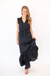 5th Avenue Maxi Dress - Black