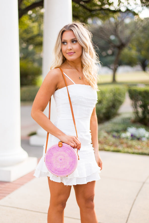 Bungalow Shoulder Strap Bag - Lilac