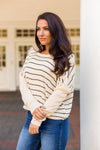 Off To The Races Sweater- Cream