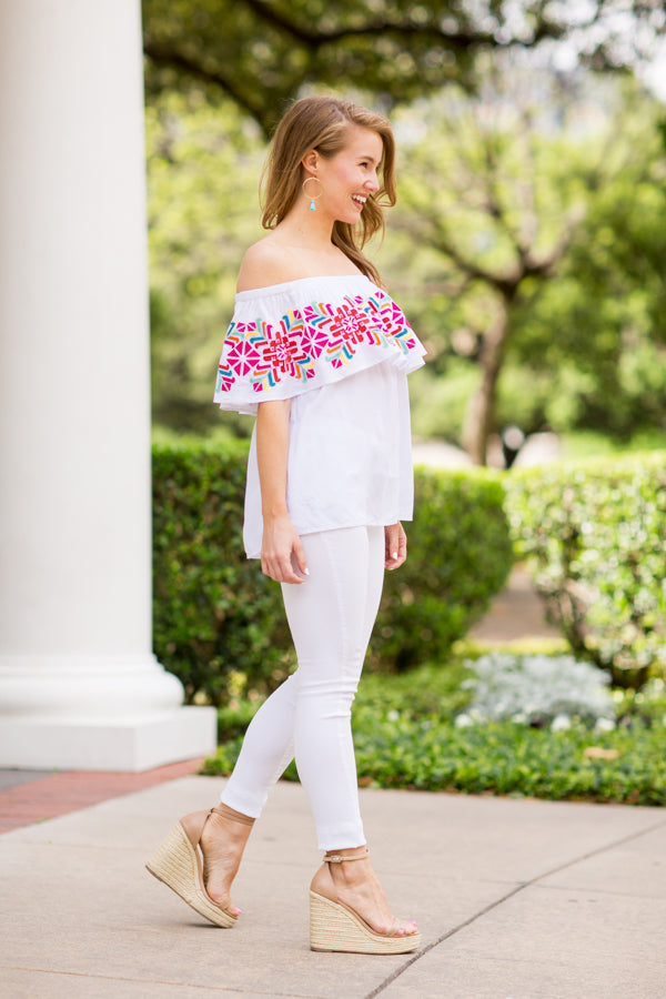The McKenna Off The Shoulder Top