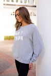 Wildfox Pour Favor Sommers Sweatshirt - Grey