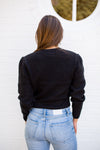 Amuse Society Florence Sweater - Black