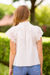 Sweet Summer Days Top - White