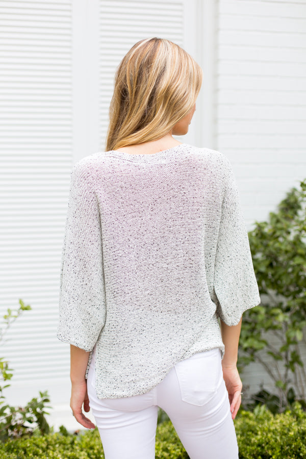 Knit Picky Sweater- Stone