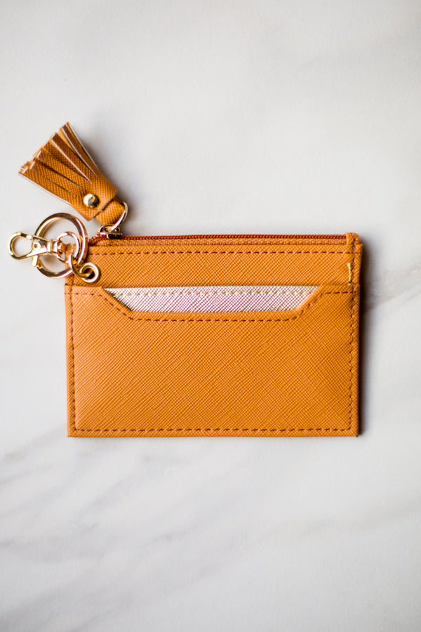 Shiraleah Leather Wallet- Carmel