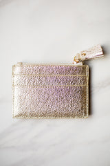 Shiraleah Leather Wallet- Gold Shimmer
