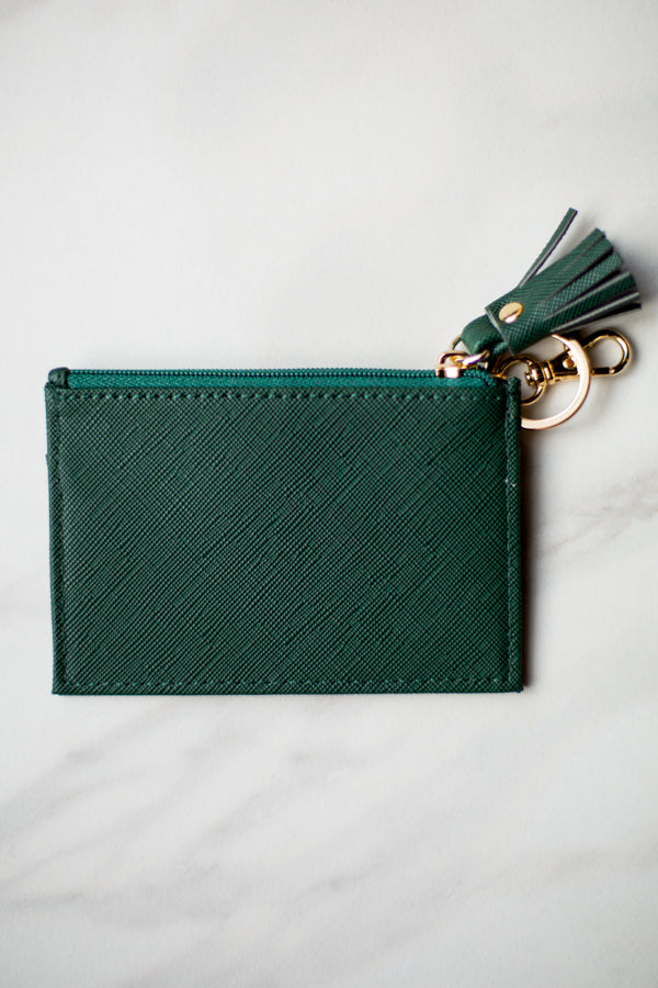 Shiraleah Leather Wallet- Green