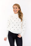 Feeling Frosty Sweater - White