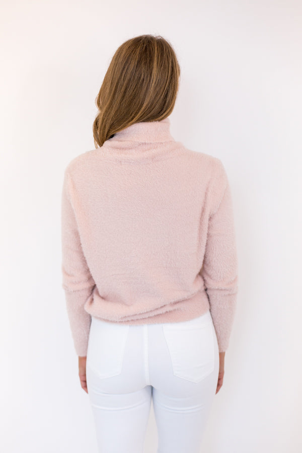 Marshmallow Dreams Sweater - Light Pink