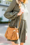 Khloe Crossbody Bag- Tan